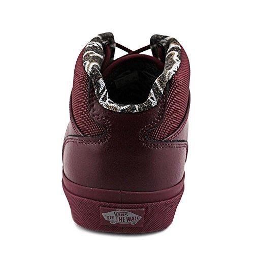 Vans Mens Bedford Craft Enkelhoge Suède Mode Sneaker Tijger Clash Wijn / Wijn