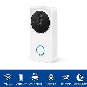 YFQH Video Doorbell, Smart Doorbell 130Dpi HD Security