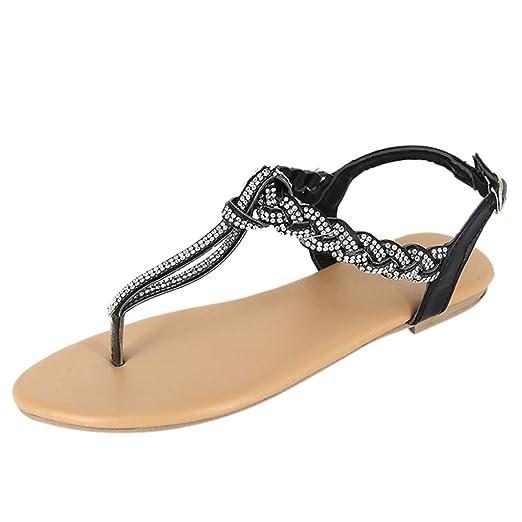 4ea92f9abd512 Amazon.com: Duseedik Summer Women's Flip Flops Sandals Ladies ...