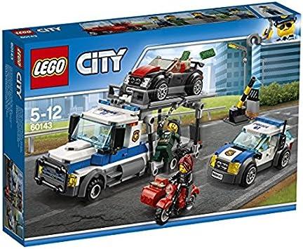 LEGO City 60143 – Atraco a Auto Transporter: Amazon.es ...