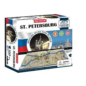 4d Cityscape Time Puzzle San Pietroburgo Inglese Giocattolo Gen 2013
