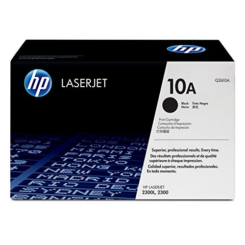 Print 2300 Smart (HP 10A (Q2610A) Black Original LaserJet Toner Cartridge)