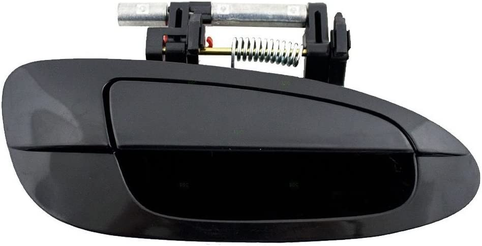 Rear Right Passenger Side Exterior Black Outside Door Handle