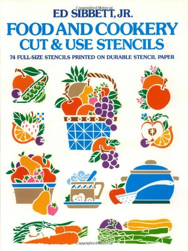 Food & Cookery Cut & Use Stencils (Dover Stencils) by Dover Publications