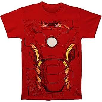 iron man suit t shirt size xxl clothing. Black Bedroom Furniture Sets. Home Design Ideas