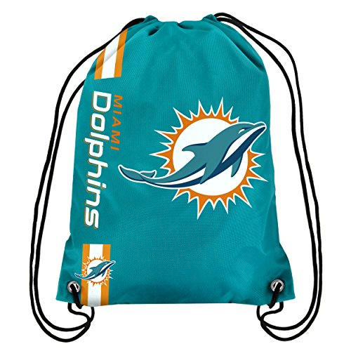 Miami Dolphins Big Logo Drawstring Backpack