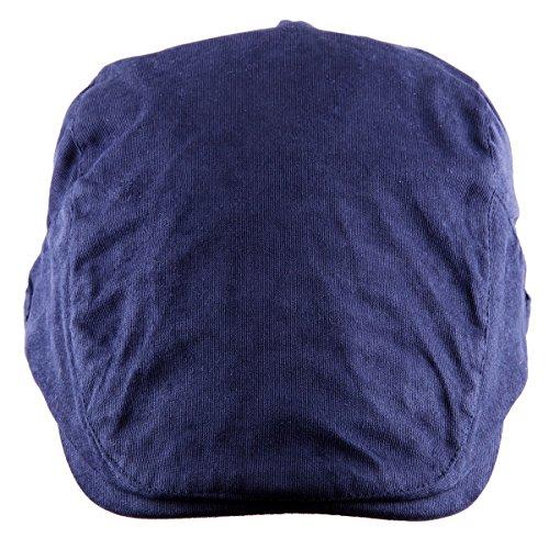 Moonsix Newsboys Hats,Unisex Corduroy Cotton Flat Ivy Berets Hat Driving Cap(01-Navy Blue(Corduroy)) - Mens Hat Beret With Brim