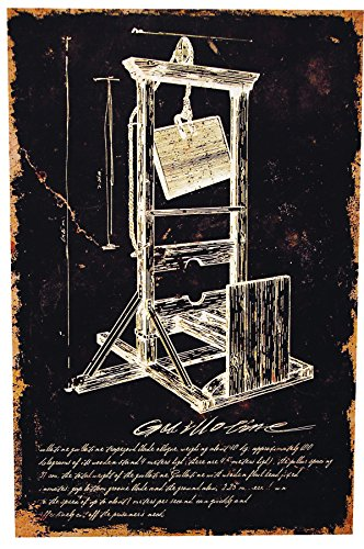 Morris Costumes Guillotine Canvas Print W/Ofrm