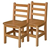 Wood Designs WD81402 Child's Chair, 14'' Height Seat, (2) Per Carton