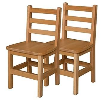... Classroom Furniture; u203a; School Chairs  sc 1 st  Amazon.com & Amazon.com: Wood Designs WD81402 Childu0027s Chair 14