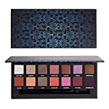 HANDAIYAN Tropical & Renaissance Eyeshadow Face Palette Pressed Pigmented Eyeshadow Powder Shimmer + Matte Makeup Palettes 14 Color 2018 New Festival Makeup Set (TROPICAL FOREST)