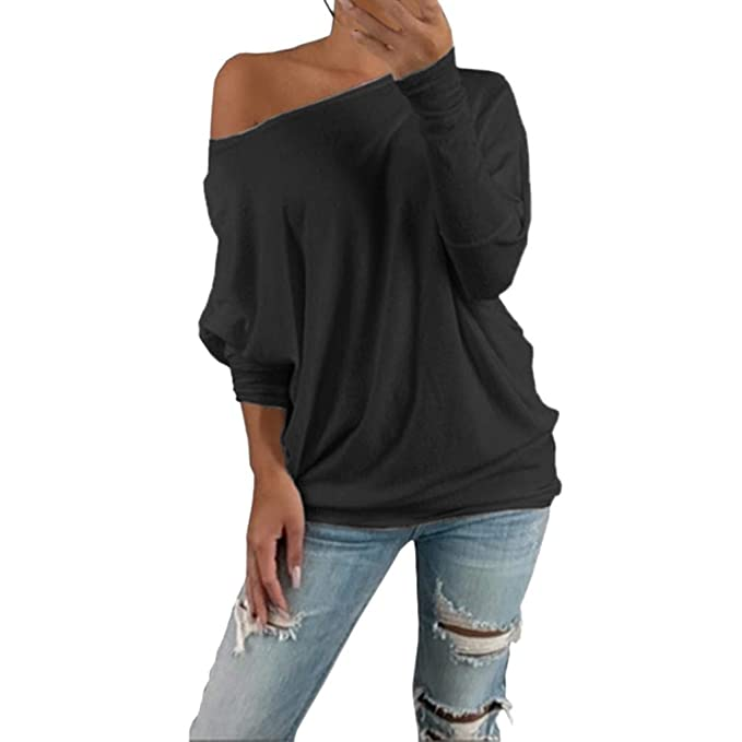 Vanilla Inc SA Fashions/® Ladies Knitted Casual Loose Batwing /¾ Sleeves Knit Pullover Sweater Jumper Oversized Thick Ribbed Winter Warm Chunky Baggy Top 8-14