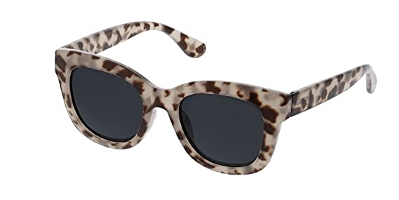 effbecfaa9 Amazon.com  Peepers Women s Center Stage Reading Sun-Berry +1.00 Round  Sunglasses 47 mm 1  Clothing