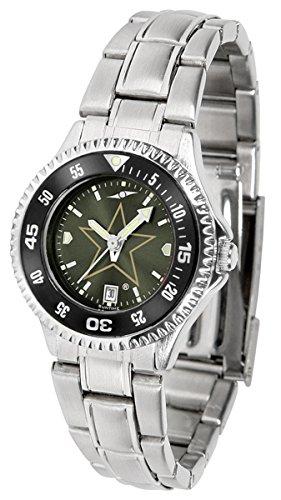 Vanderbilt Commodores Competitor Steel AnoChrome Women's Watch - Color Bezel