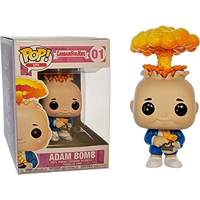 Funko Adam Bomb: Garbage Pail Kids x POP! GPK Vinyl Figure & 1 POP! Compatible PET Plastic Graphical Protector Bundle [#001 / 26003 - B]: Toys & Games