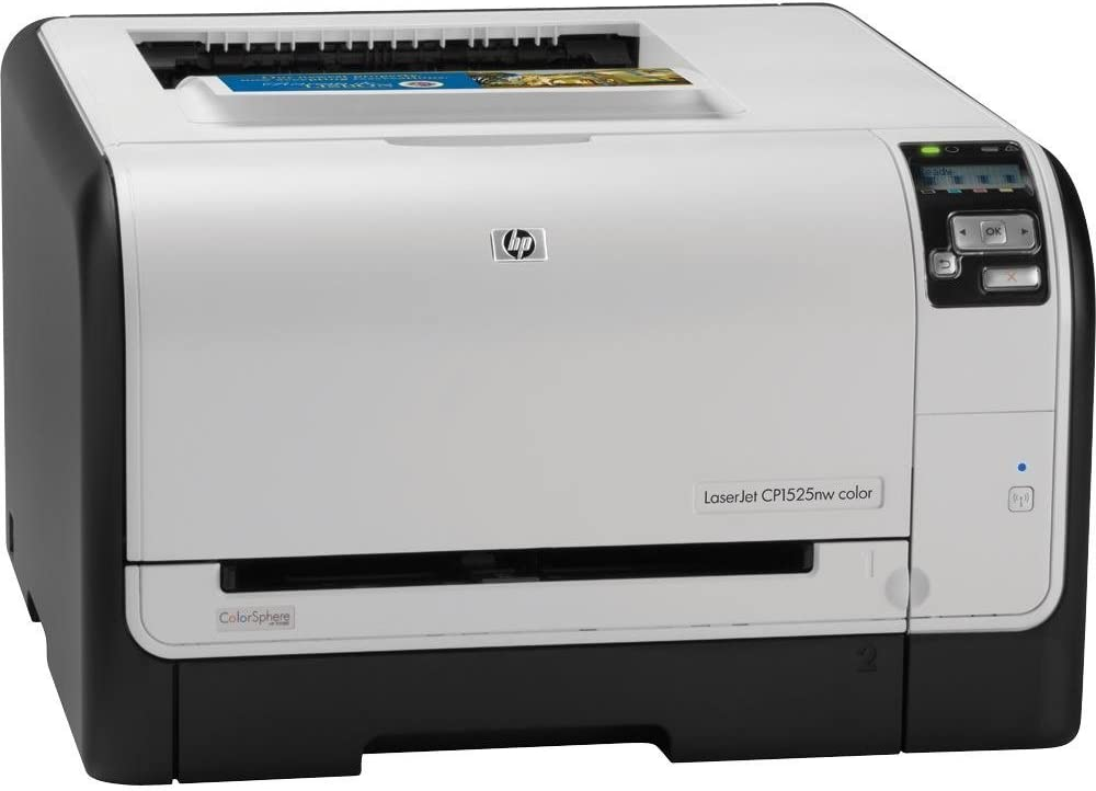 HP Laserjet Pro CP1525nw Color Printer (CE875A) (Renewed)