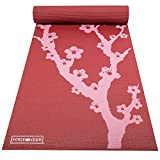 #9: Peace Yoga Extra Thick 3mm or 6mm Pilates Exercise Yoga Mat with Printed Design