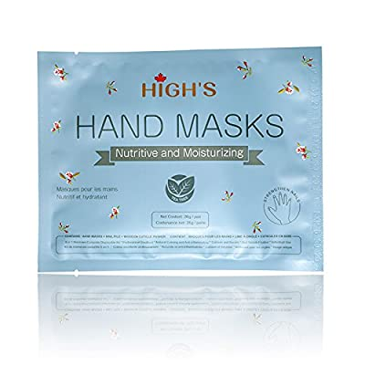 HIGH'S Nutritive Home Spa Manicure Hand Mask/ Foot Mask Moisturizing Gloves/ Moisturizing Socks