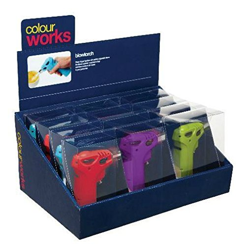 Coloured Kitchen / Cooks Blowtorch - Various Colours (Pack of 6) by Colour Works