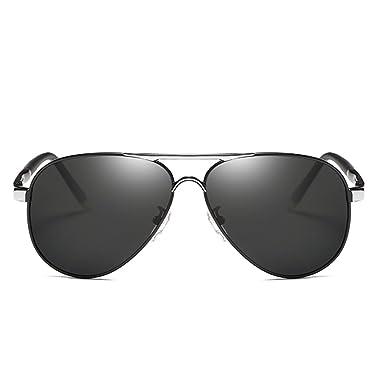 Lunettes de soleil polarisées UV400 aviator en alliage Protection Poids Léger Lunettes Métal Monture Lunettes de soleil réfléchissantes avec pour hommes et femmes 402j0q