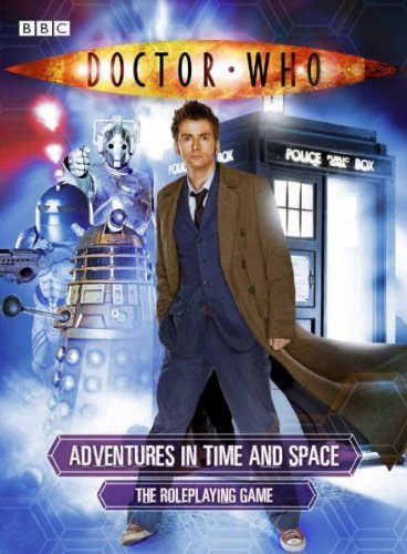 Doctor Who RPG Boxed Game (Tenth Doctor Edition)