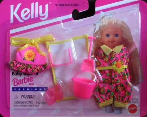 Kelly Doll Fashion - Barbie - Kelly Beach Fashions My Fashion Wish List (1995)