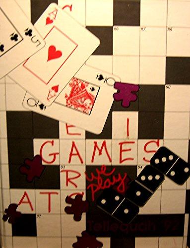 Tellequah 92, Games We Play (High School Yearbook Game)