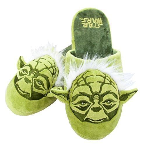 Star Wars Yoda Slip On Slippers