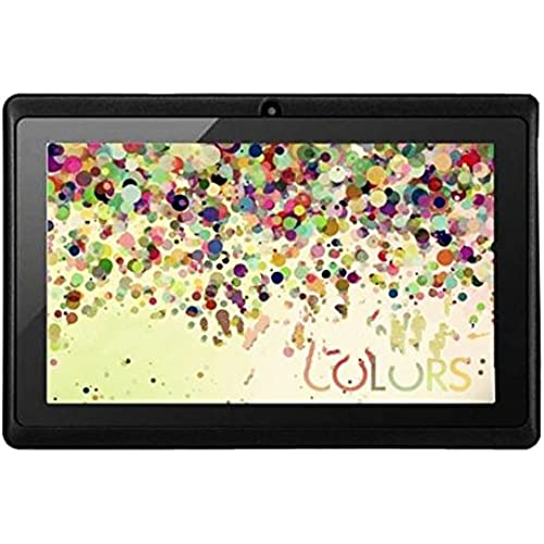 Q88 7 inch Tablet Android Allwinner A33 Capacitive Screen Quad Core 512MB+8GB With Dual Camera External 3G Tablet PC-Black Coupons