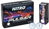 Nitro Pulsar Box Golf Balls (Pack 12)