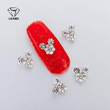 Amazon.com  10 PCS bag In 3D Nail Art Rhinestone Charm Mickey Mouse On Adornment  Sparkling Rhinestone Nail Supplies  Beauty 882967c42160