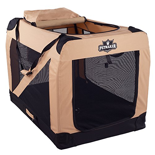PETMAKER Portable Soft Sided Pet Crate, 42