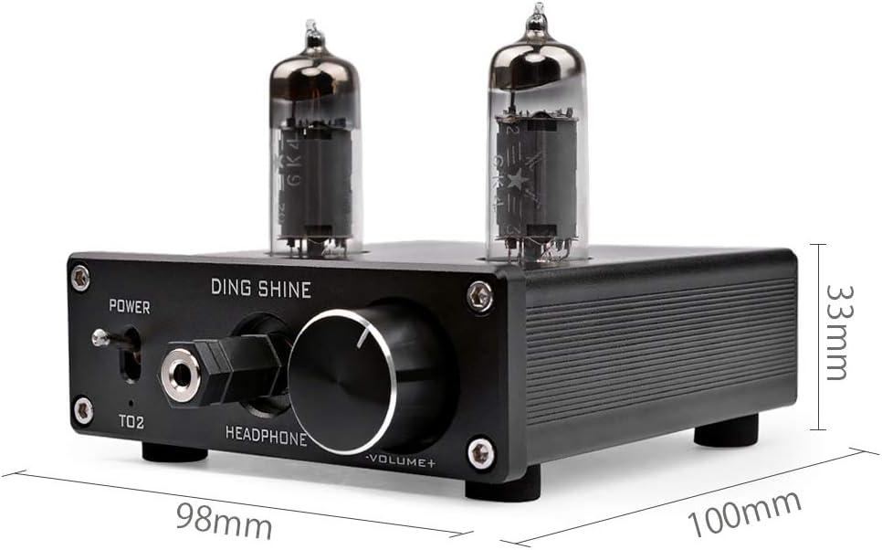 MagiDeal 6J1 Value Tube Amplifier Stereo HIFI Preamp Buffer Preamp White