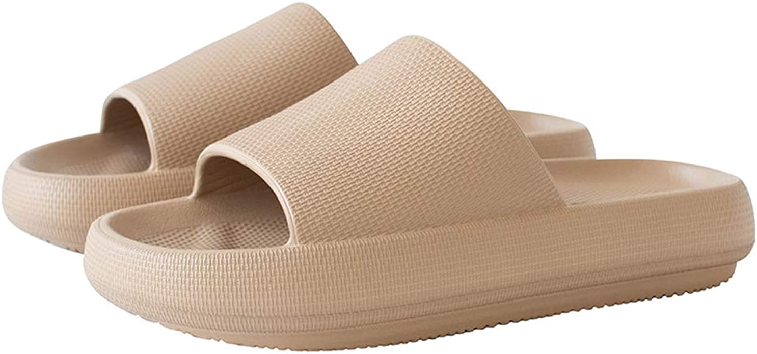 Home Floor Slippers Shoes Sandals For Womens Mens Indoor Sliders Summer C4F9