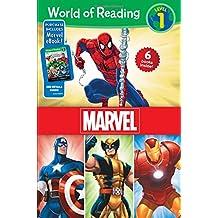 World of Reading Marvel Boxed Set: Level 1 - Purchase Includes Marvel eBook!
