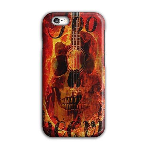 Rock Skull Music Skeleton Festival iPhone 6 / 6S Case | Wellcoda