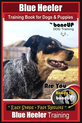 Blue Heeler Training Book for Dogs and Puppies, by BoneUP Dog Training: Are You Ready to Bone Up? Easy Steps * Fast Results Blue Heeler Training ()