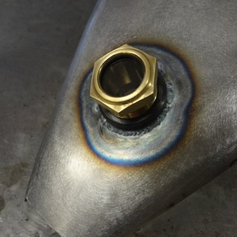 Amazoncom Motorcycle Brass Sight Site Glass Style External Fuel