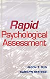 Rapid Psychological Assessment