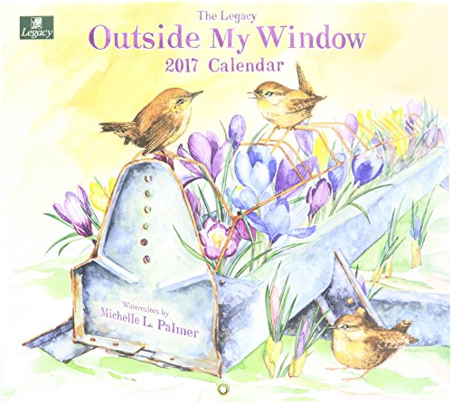 Legacy Publishing Group 2017 12-Month Wall Calendar, Outside My Window (WCA25564)