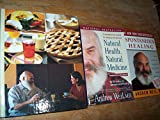 img - for Andrew Weil 3 Volumes Set: The Healthy Kitchen, Natural Health, Natural Medicine & Spontaneous Healing book / textbook / text book
