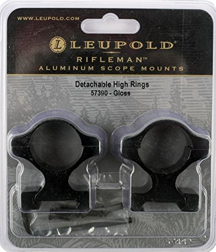 Scope Gloss Leupold Mounts - Leupold Rifleman Detachable High Rings, Gloss