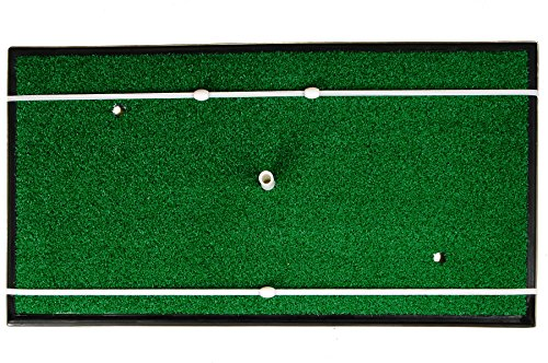 Spornia SPG-5 Golf Practice Net (3 in 1 Bundle) - Automatic Ball Return System W/ Target sheet,Two Side Barrier w/ Heavy Hitting Turf Mat w/ Chip Net Basket by Spornia (Image #6)