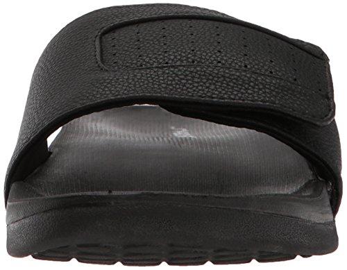 Sandalo Nero Mens Skechers Gambix Nero Rosney Slide Sqp0I1
