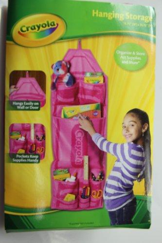 Crayola CYS123 Hanging Storage Pink product image