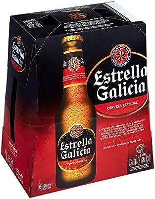 Estrella Galicia Cerveza Especial -Pack de 6 x 25 cl - Total: 1,5 ...