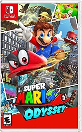 Amazon Com Super Mario Odyssey Nintendo Switch Nintendo Of America Video Games