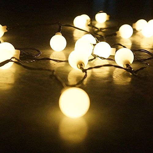 100 led globe string lights ball christmas lights indoor outdoor decorative light usb. Black Bedroom Furniture Sets. Home Design Ideas