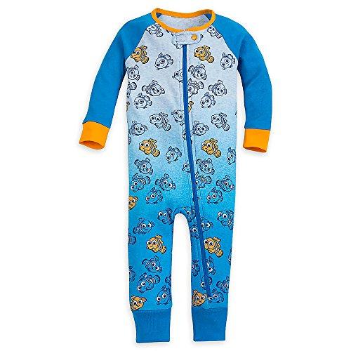 (Disney Nemo Stretchie Sleeper for Baby Size 9-12 MO)