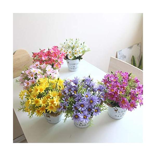 Charmly-Artificial-Flowers-Potted-European-Style-Design-Silk-Daisy-Arrangements-House-Office-Restaurant-Table-Centerpieces-Windowsill-Decor-Daisy-White